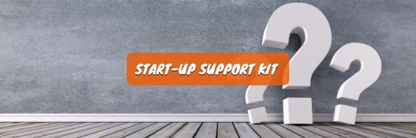 Start-Up support kit avec conseils, mesures et informations utiles pour les entreprises face à la pandémie Covid-19
