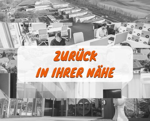 Unser Team ist zurück in den verschiedenen Coworking-Spaces und Innovationspärke des Kantons Freiburg