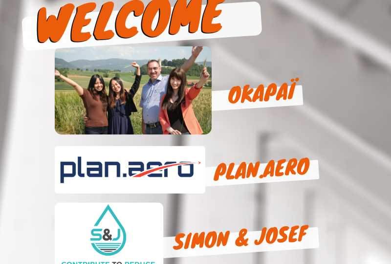Nous accompagnons les start-up fribourgeoises Okapaï, Simon & Josef et plan.aero