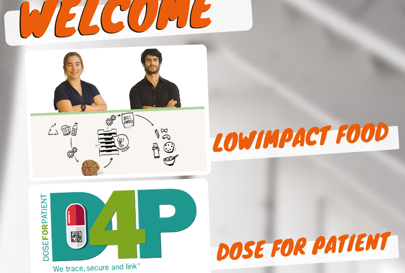 Les start-up fribourgeoises D4P et Lowimpact food ont intégré le programme d'accompagnement de Fri Up