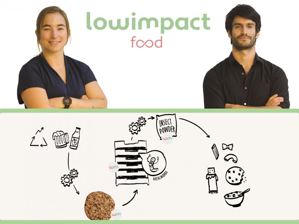 Lowimpact food développe un poudre protéinée à base d'insectes